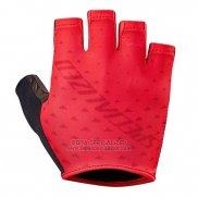 Specialized Cycling Guantes Cortos 2018 Rojo Negro