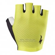 Specialized Cycling Guantes Cortos Verde Negro