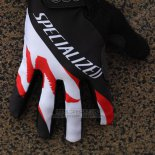 Specialized Cycling Guantes Enteros 2014 Negro Blanco Rojo